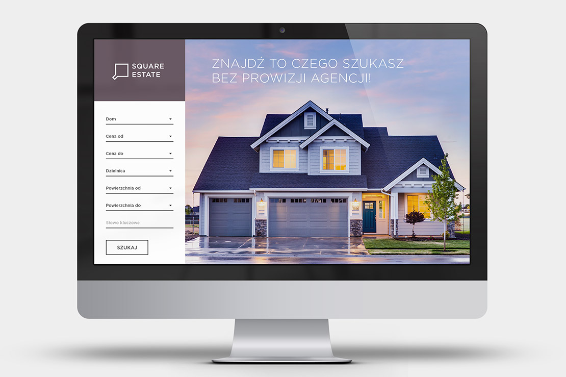 Square Estate - web design